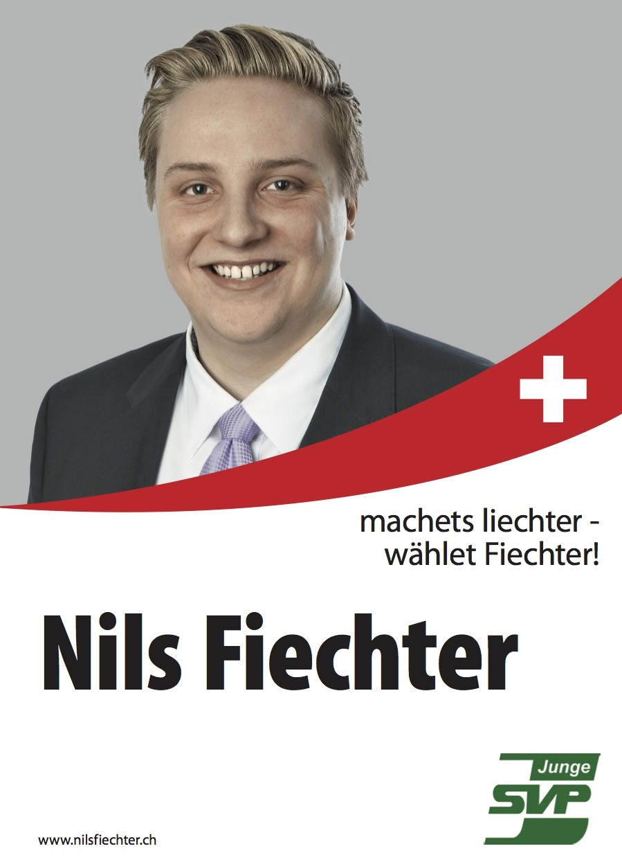 Nils Fiechter in den Nationalrat
